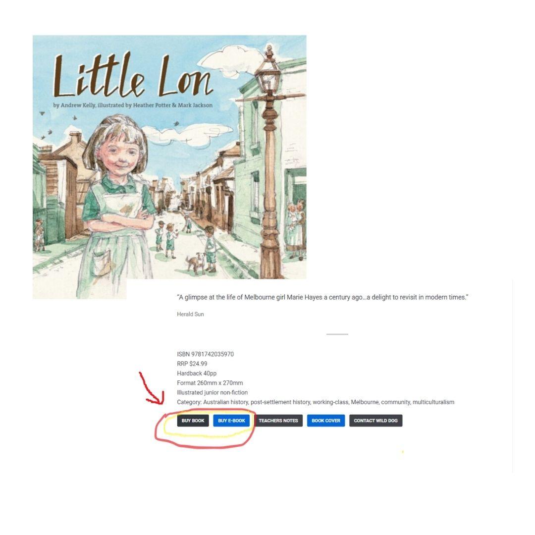 Little Lon - Buy Book