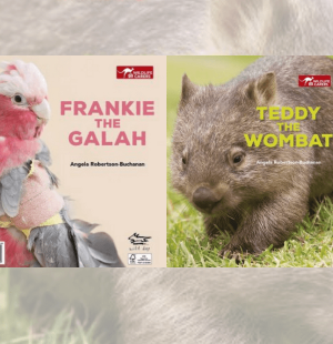 Teddy Wombat & Frankie Galah - Wild Dog Books